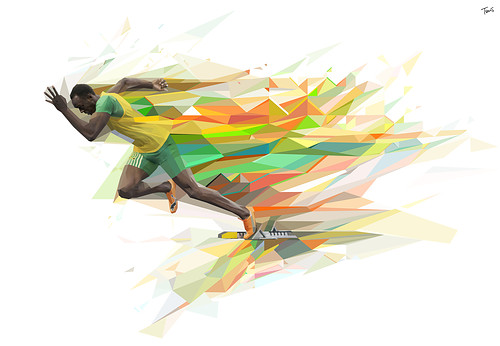 crystal,digitalart,geometric,illustration,running,usainbolt-bb499af2273ec8f1fd39bc0736e8ace7_h