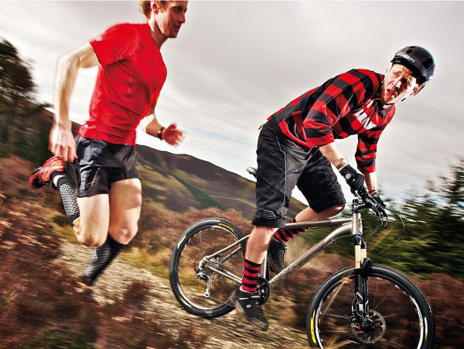 running-cycling